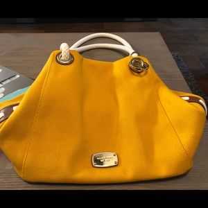 Michael Kors Large Yellow Marina Bag